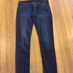 Hudson Medium Wash Collin Skinny size 29